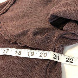 Free People Tops - Free People Bell Sleeve Tunic Sweatshirt Sz S